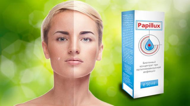 Папилюкс содержит природные неизменённые формы активных компонентов, проявляющие полиактивность в отношении штаммов ВПЧ, патогенной флоры кишечника и эпителия кожи