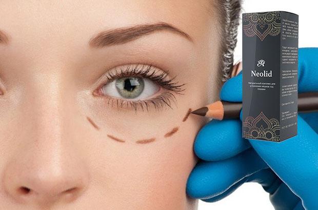 Например, предохраняя кожу от отечности, Neolid-компоненты высушивают тонкую дерму