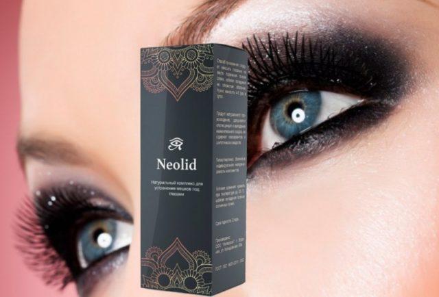 Производители особо отмечают натуральность компонентов средства для век Неолид