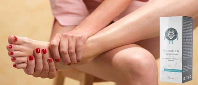 Чаще всего грибок появляется на стопах ног, особенно между пальцами
