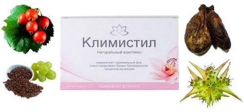 Действие ампулы с жидким препаратом направлено на предотвращение симптомов климакса