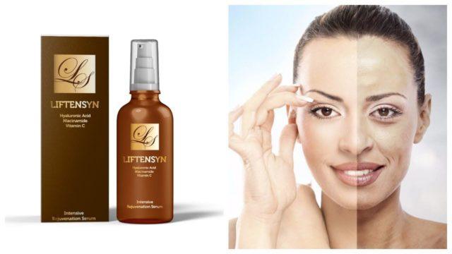 В отличие от другой косметики, в сыворотке Лифтенсин не содержится никакой химии, это гипоаллергенный препарат, который не вредит коже